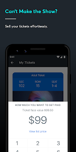 screenshot of Ticketmaster-Buy, Sell Tickets to Concerts, Sports version 204.0