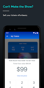screenshot of Ticketmaster-Buy, Sell Tickets to Concerts, Sports version 1.41.0