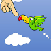 Touch play to fly birds