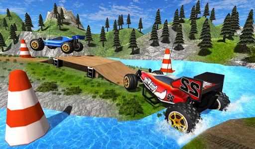 screenshot of Toy Truck Rally Extreme version 2.0