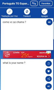 screenshot of Tradutor Português Inglês/Inglês Português version 39.0