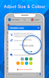 screenshot of Translate voice - Translator version 201.0