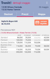 screenshot of Trenit: find trains in Italy version 2.1.5
