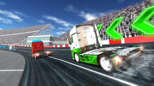 screenshot of Truck Racing 2018 version 4.0