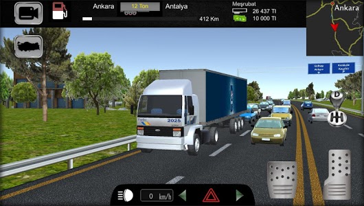 screenshot of Cargo Simulator 2019: Turkey version 1.30