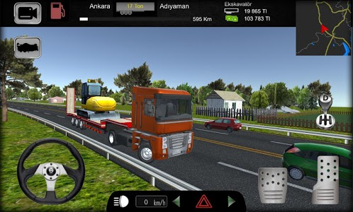 screenshot of Cargo Simulator 2019: Turkey version 1.24