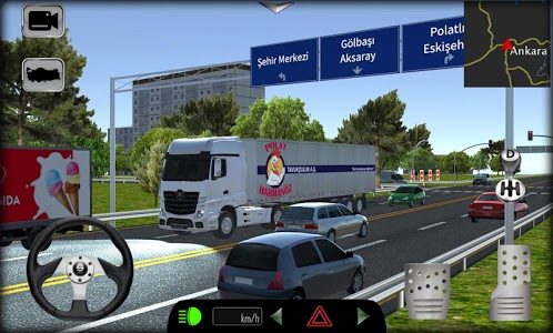 screenshot of Truck Simulator 2019: Turkey version 1.20