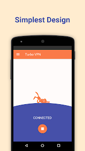 screenshot of Turbo VPN – Unlimited Free VPN version 1.0.5