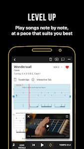 screenshot of Ultimate Guitar: Chords & Tabs version Varies with device