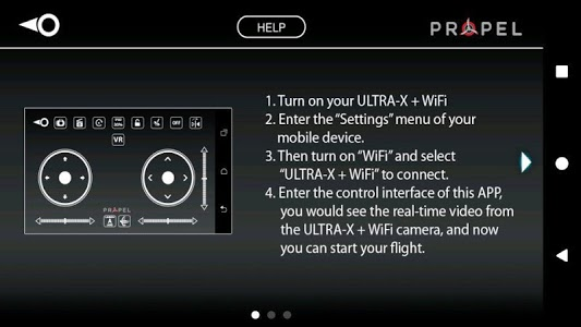 screenshot of Ultra-X + WiFi version 1.2_3
