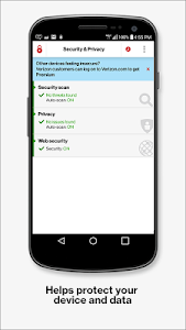 screenshot of Security & Privacy version 5.0.49