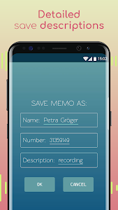 screenshot of Voice Recorder with Caller ID version 2.184
