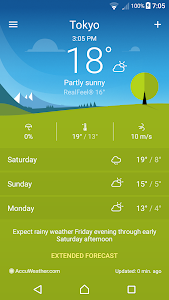 screenshot of Weather version 1.3.A.4.15