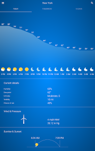 screenshot of Weather 🌞 version 1.8.2