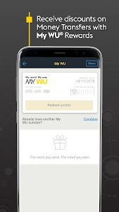 screenshot of Western Union US - Send Money Transfers Quickly version 6.2