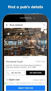 screenshot of Wetherspoon version 2.1.3