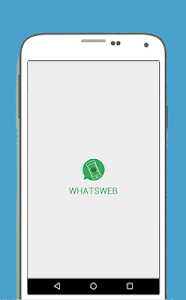 screenshot of WhatsWeb version 2.1