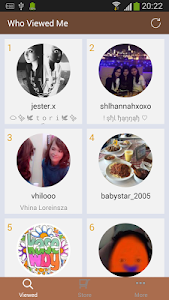 screenshot of Who Watched Me - for Instagram version 2.1.1