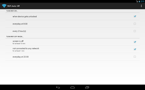screenshot of WiFi Automatic version Varies with device
