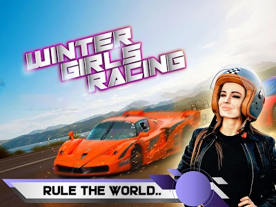 screenshot of Winter Girls Racing 2019 version 1.0