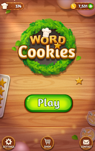 screenshot of Word Cookies!® version 3.3.3