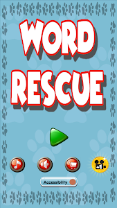 screenshot of Word Rescue version 1.0