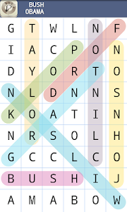 screenshot of Word Search Puzzle version 1.3