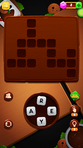 screenshot of Word Tour Crossyword version 1.3
