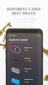 screenshot of X Cases version 1.1.13