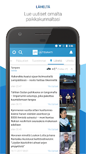 screenshot of Yle Uutisvahti version 6.1.8