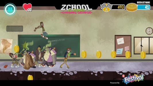 screenshot of Zchool of Zombies version 0.10