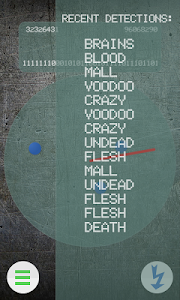 screenshot of Zombie Radar Game version 4.1.1
