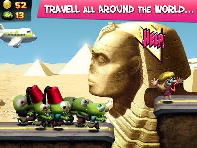 screenshot of Zombie Tsunami version Varies with device