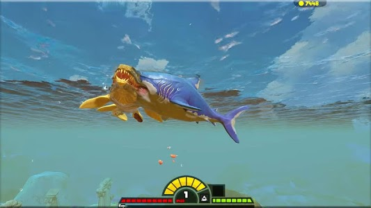 screenshot of feed and grow -Mecha fish version 3.0