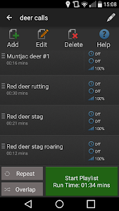 screenshot of iHunt 750 - Hunting Calls & Solunar Tables version 1.3.2