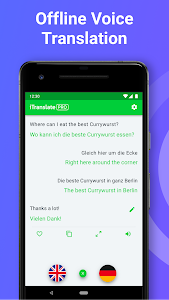 screenshot of iTranslate Translator & Dictionary version Varies with device