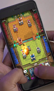 screenshot of new clash royale tricks version 1.4